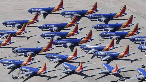 Southwest pilots sue Boeing for $100 million over lost wages from 737 MAX