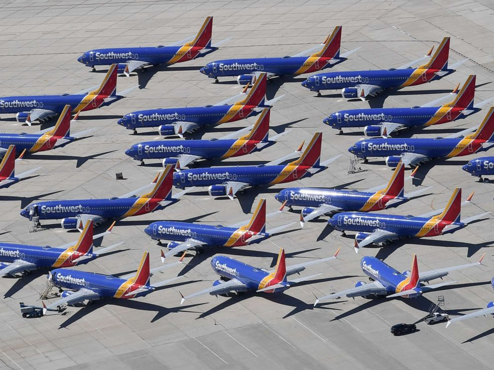 Southwest pilots sue Boeing over alleged lost wages from 737 MAX grounding
