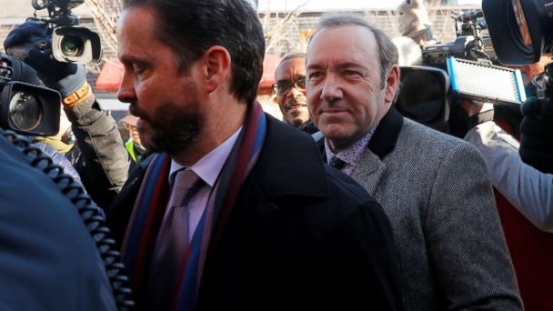 Kevin Spacey arraigned on sex assault charge in Nantucket court