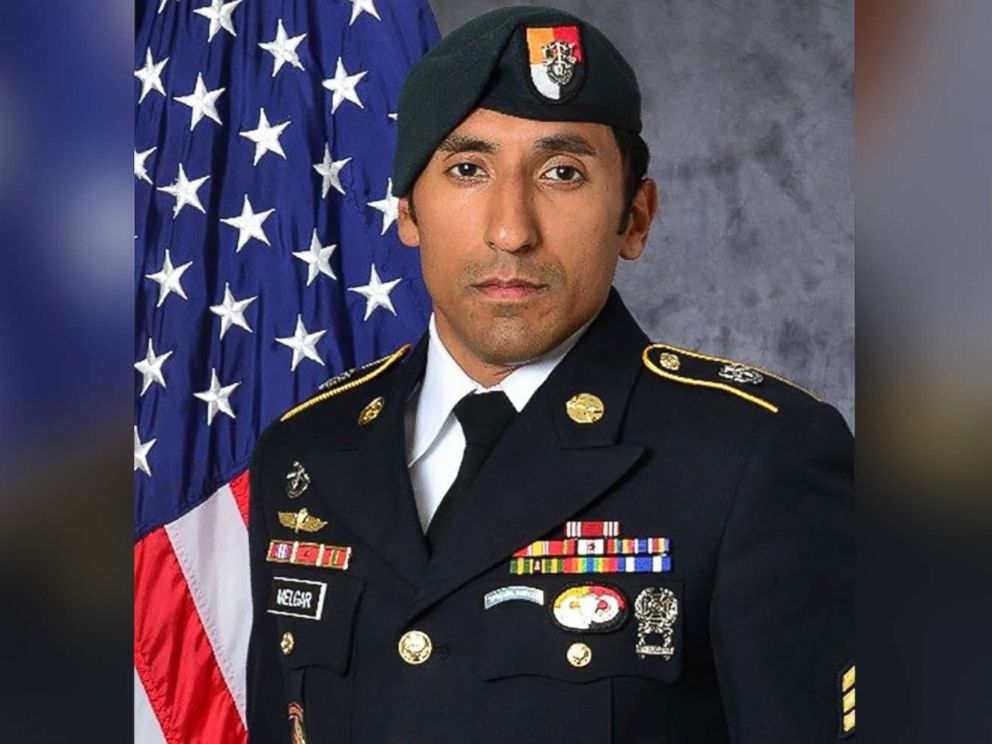 PHOTO: U.S. Army Staff Sgt. Logan Melgar of Lubbock, Texas, died in Mali on June 4, 2017. His death is being investigated as a homicide.