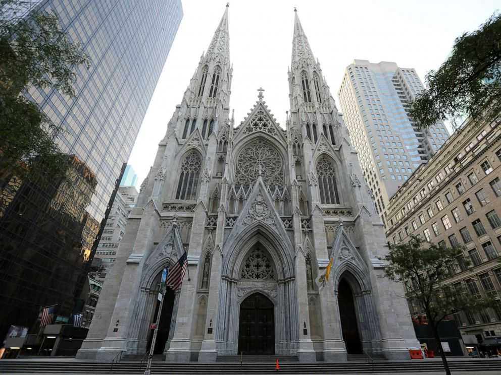 PHOTO: St. Patricks Cathedral in New York.