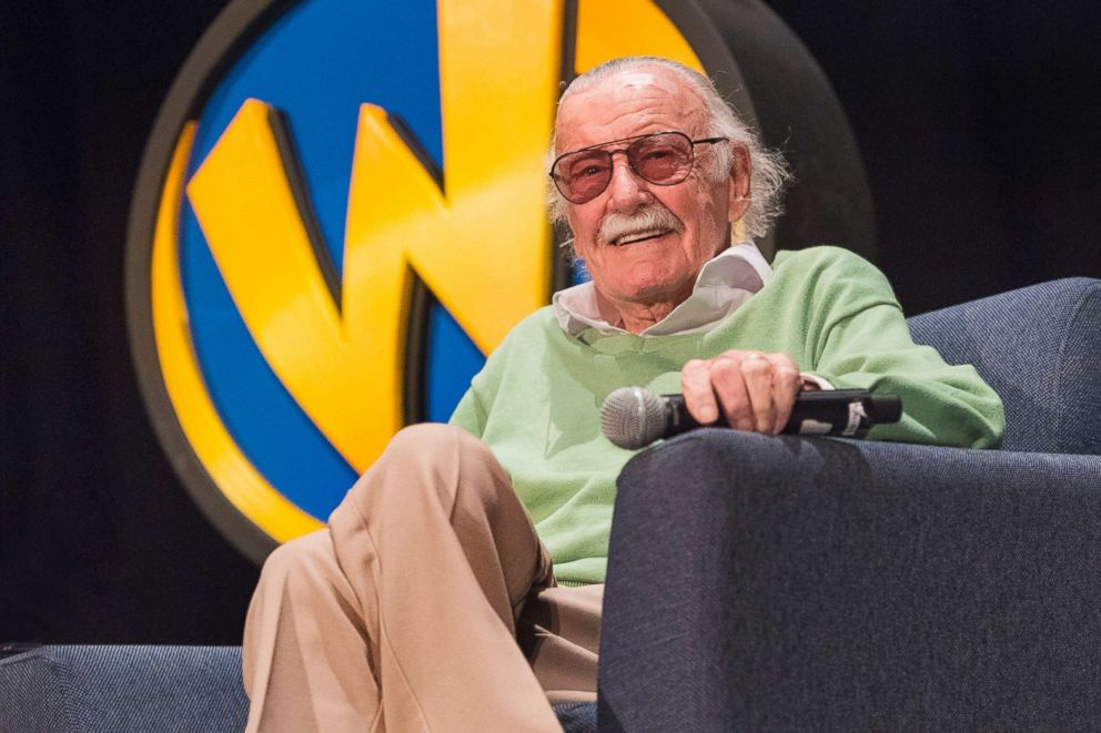 Stan Lee participates in a session during Wizard World Comic Con on Jan. 6, 2018, in New Orleans.