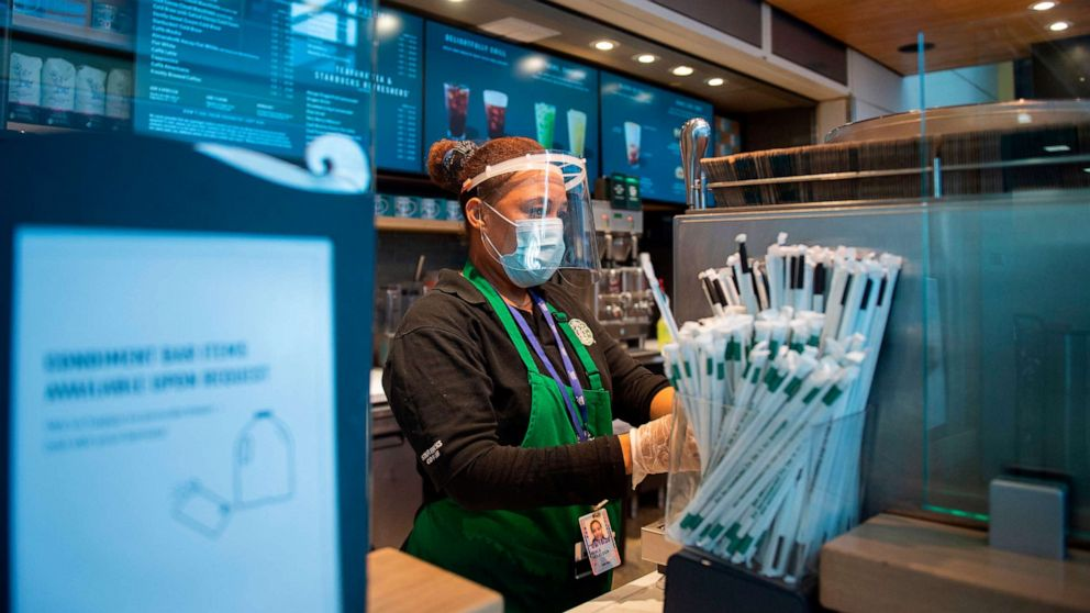 Starbucks will require masks for customers at all US locations thumbnail