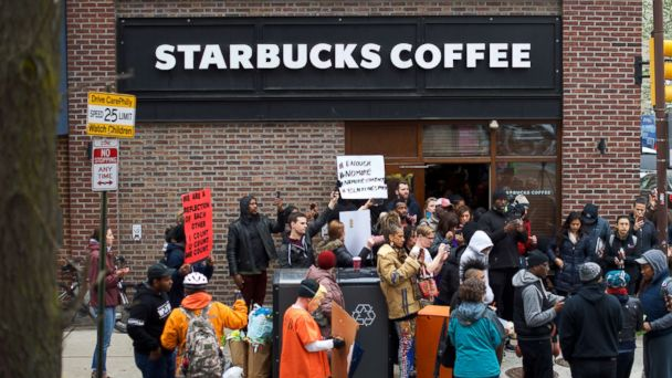 Ex-manager sues Starbucks for firing after arrest of 2 black men at Philadelphia store