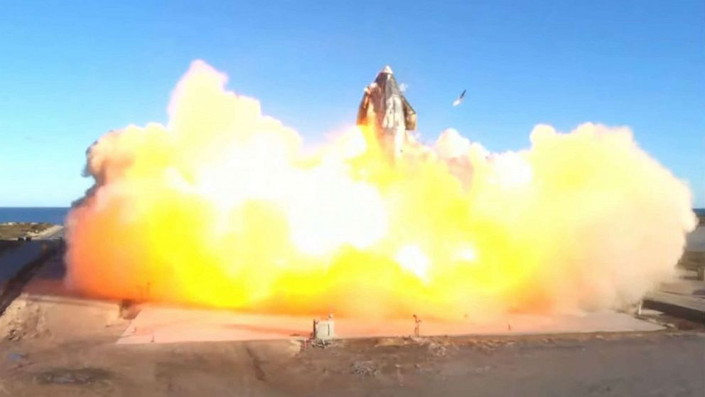 Unmanned SpaceX Starship test flight explodes during landing