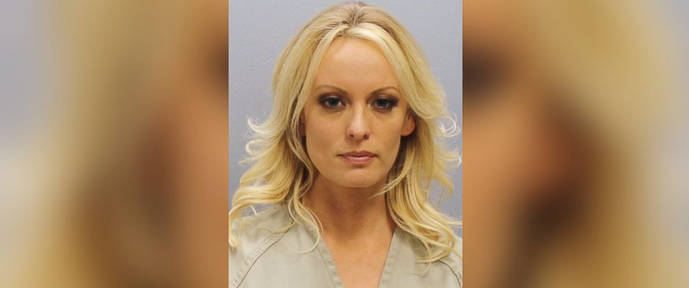 PHOTO: Stephanie Clifford, also known as Stormy Daniels, is seen in this booking photo in Franklin County, Ohio, July 12, 2018.