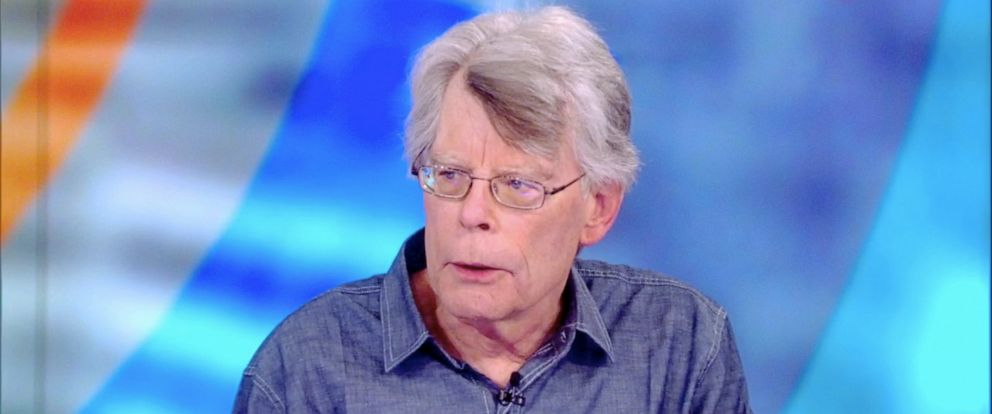 """PHOTO: Stephen King tells """"The View"""" co-hosts about his new horror novel """"The Institute,"""" Sept. 11, 2019."""