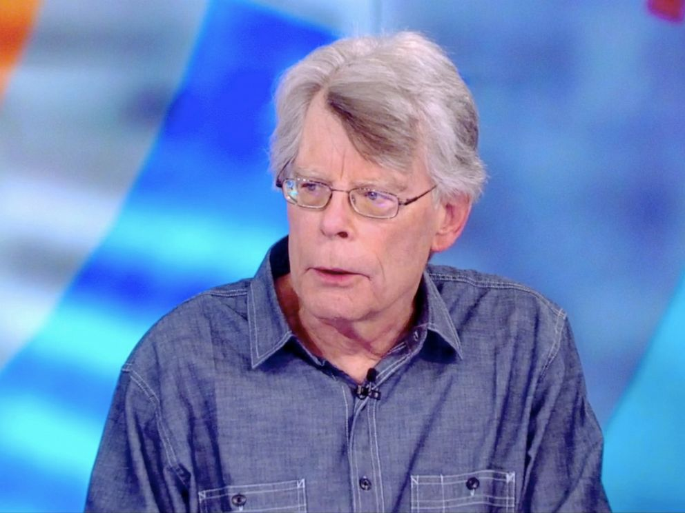 PHOTO: Stephen King tells The View co-hosts about his new horror novel The Institute, Sept. 11, 2019.