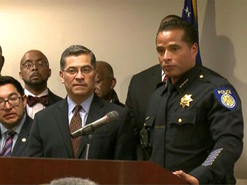 PHOTO: California Attorney General, Xavier Becerra and the California Sheriffs Department, announced that his office will be independently investigating the death of Stephon Clark.