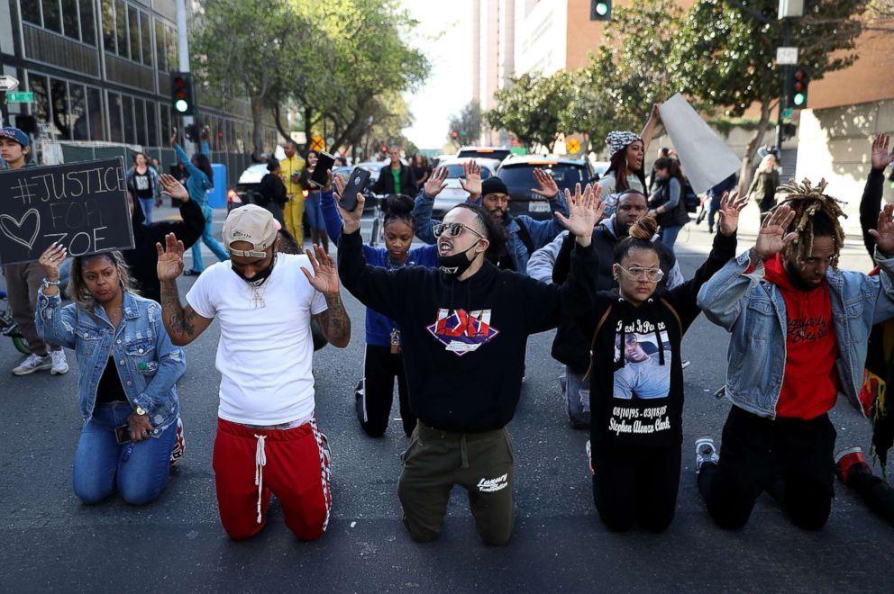 Image result for stephon clark protest