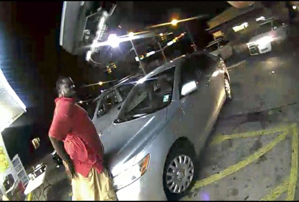 PHOTO: Alton Sterling is seen prior to his 2016 shooting death in footage recently released by the Baton Rouge Police Department, March 30, 2018.