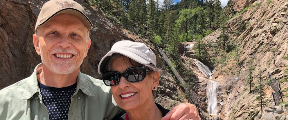 PHOTO: Betty Huart, seen here with her husband Steve, suffered from fatty liver disease which degenerated into liver cancer. She was the first person in Colorado to receive a Hepatitis C infected organ.