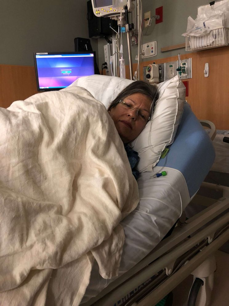PHOTO: Betty Huart had waited on the liver transplant list for several months before agreeing to partake in a study that would look at using infected organs as transplant options.