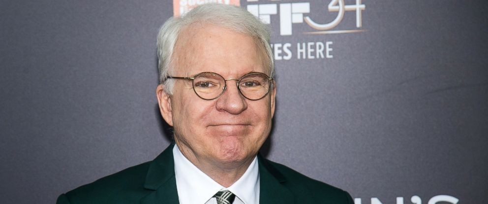"PHOTO: Steve Martin attends the world premiere of ""Billy Lynns Long Halftime Walk"", during the 54th New York Film Festival, at AMC Loews Lincoln Square on Friday, Oct. 14, 2016, in New York."