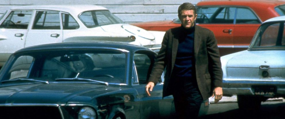 """PHOTO: Steve McQueen in a scene from 1968 film """"Bullitt."""""""