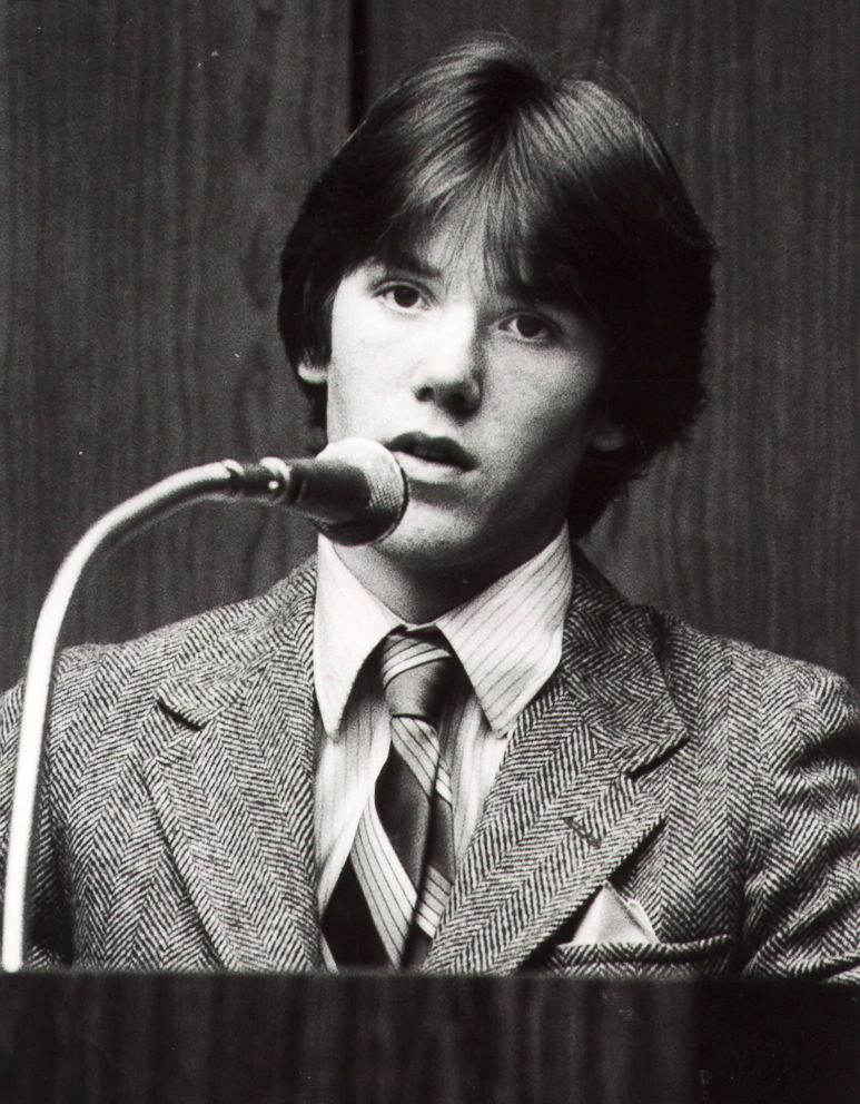 PHOTO: Steven Stayner testifies about his abduction in 1972 by Kenneth Parnell and his seven years in captivity in this 1981 photo.