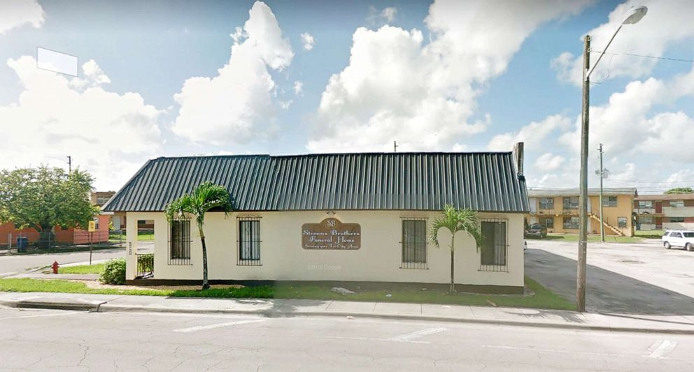 PHOTO: Stevens Brothers Funeral Home in West Palm Beach Fla., is pictured in this undated image from Google Street View.