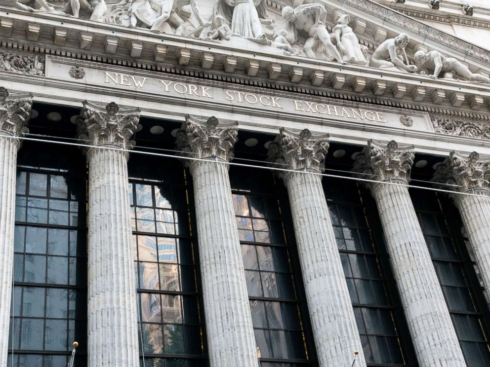 PHOTO: The New York Stock Exchange in New York City.