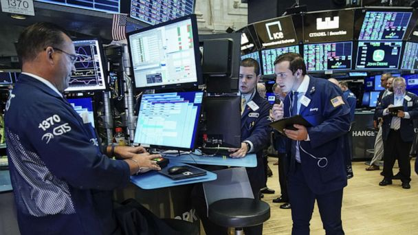 Dow closes flat, holding most of Wednesday's steep losses