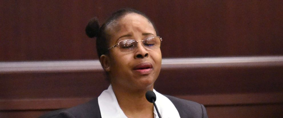 PHOTO: Gloria Williams testifies on the second day of her sentencing hearing Friday, May 4, 2018, at the Duval County Courthouse in Jacksonville, Fla.
