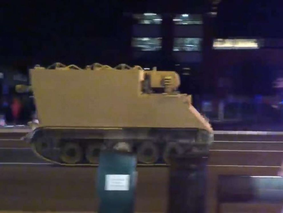 A soldier took a military troop transport from Fort Pickett, Virginia, and drove it at high speeds on I-95, police said.  Virginia State Police chase stolen military vehicle down I-95 stolen military vehicle ugc mo 20180605 hpMain 4x3 992