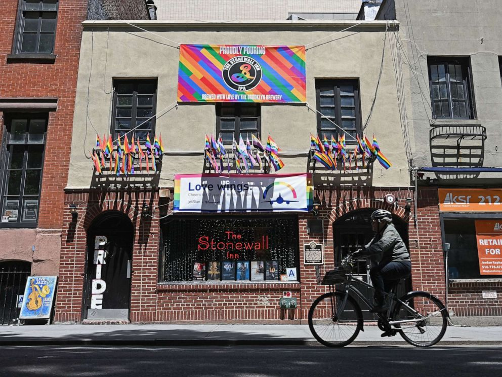 NYPD sorry for '69 raid at Stonewall gay bar, now a landmark