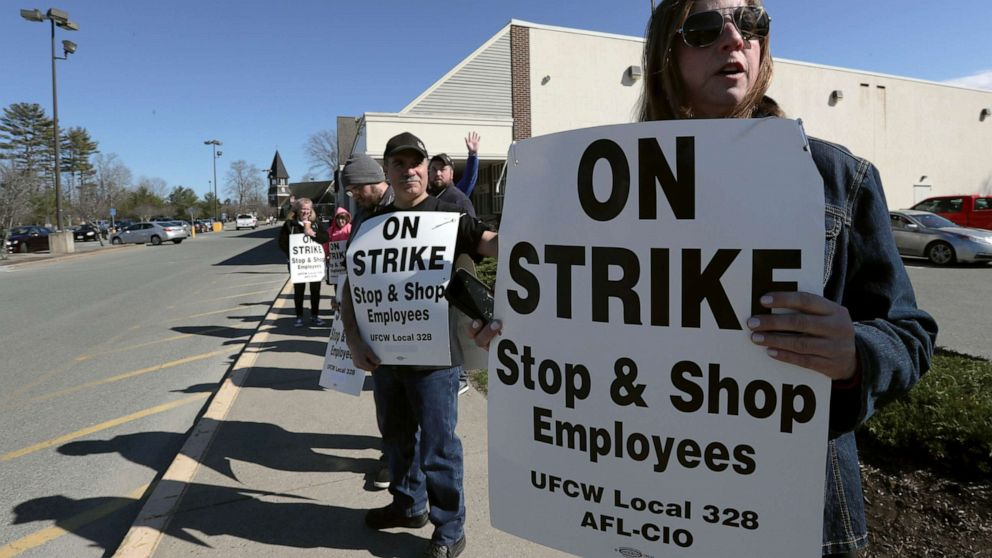 Stop & Shop workers union strike continues for 7th day