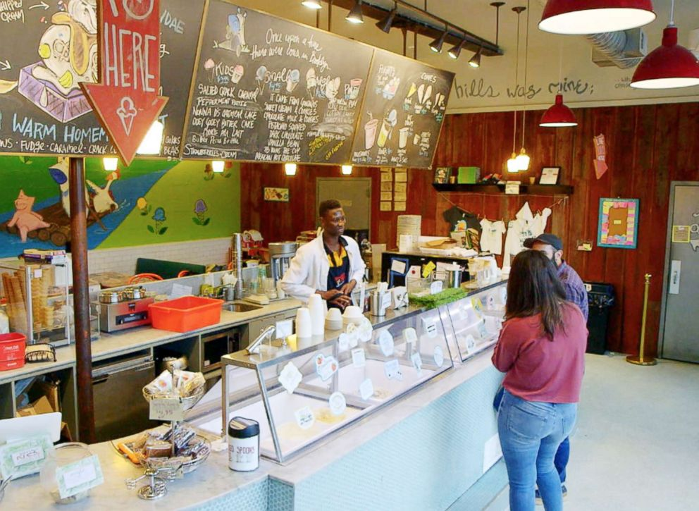 PHOTO: An Ample Hills Creamery store is pictured here.