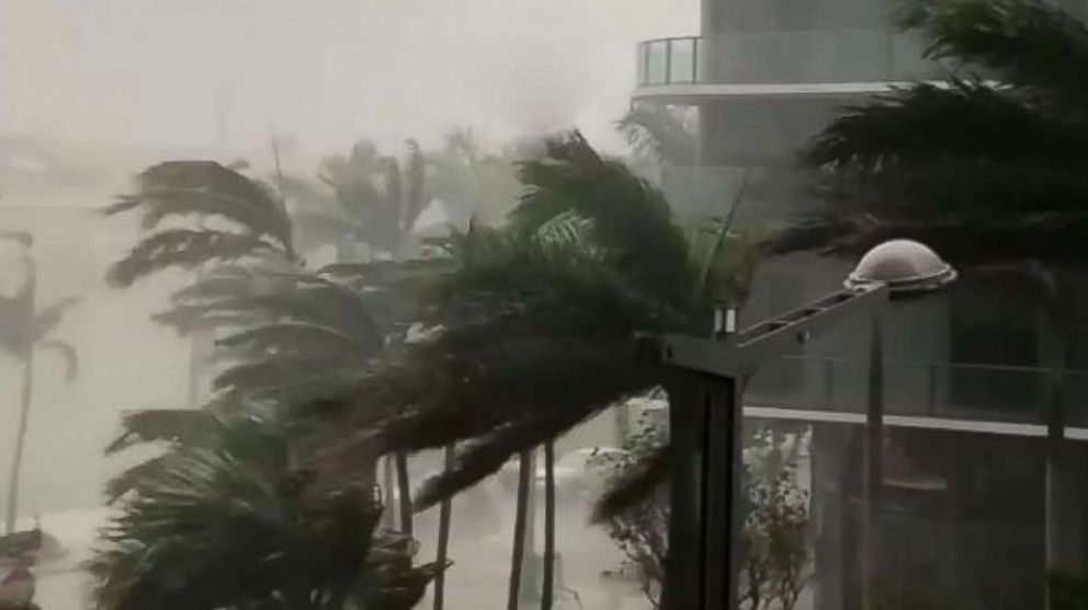 @michaelscig72 shared video on Instagram showing tropical storm Alberto, May 27, 2018 in Miami.