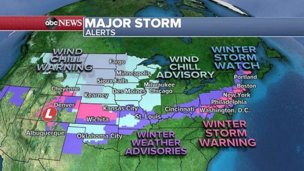Winter Storm Warning Bring It On Says >> Winter Storm Could Dump 6 To 8 Inches Of Snow On New York City
