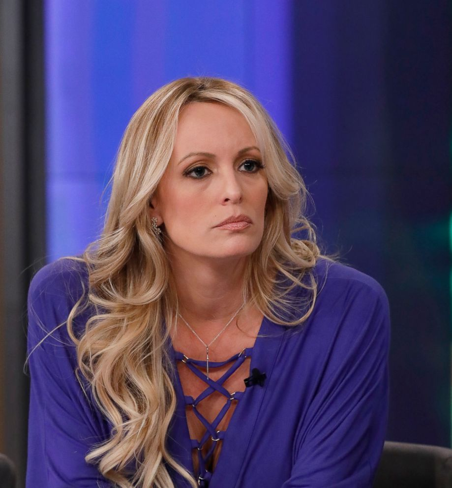 PHOTO: Stormy Daniels appears on The View, April 17, 2018.