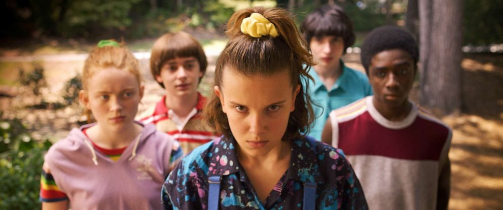 "PHOTO: A scene from season 3 of ""Stranger Things."""