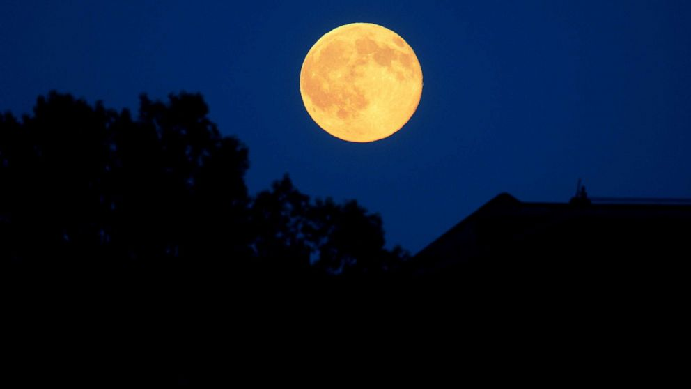 How to watch tonight's 'Strawberry Moon,' the last supermoon of 2021
