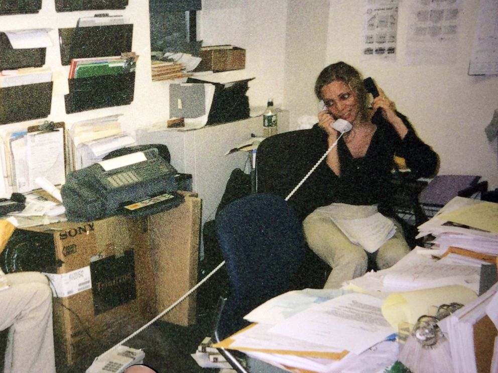 PHOTO: Wendy Oxenhorn is pictured at the Jazz Foundation of America offices in New York in 2000.