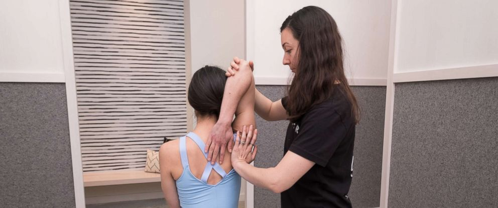 PHOTO: Feeling a little tight after tennis or in pain after Pilates? Try Stretch*d.