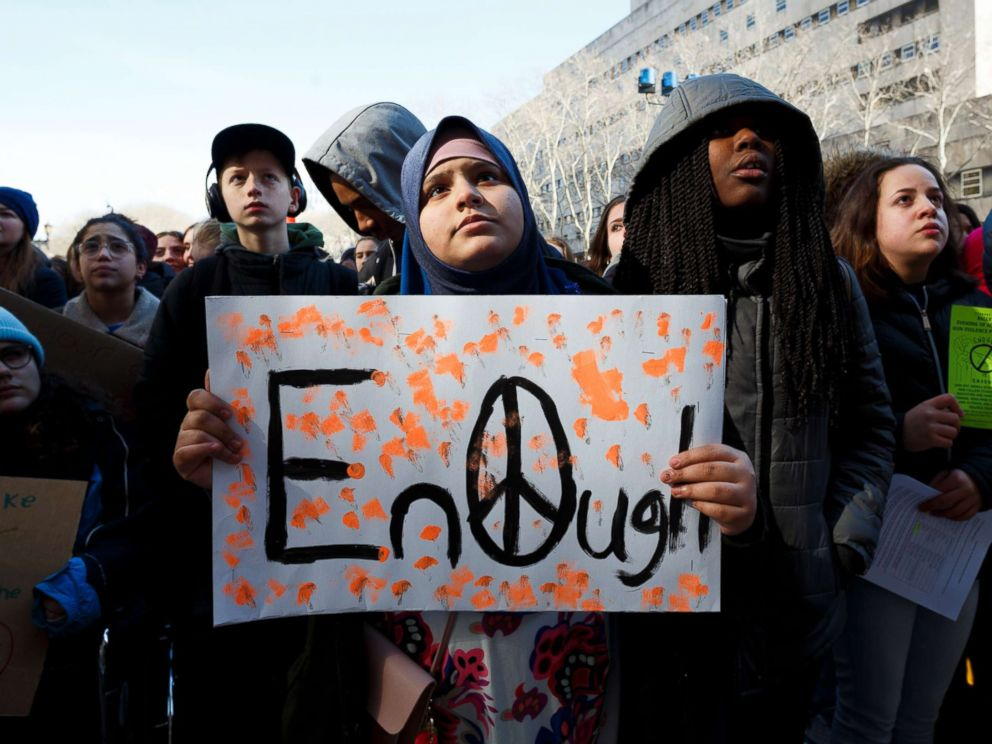 U.S. students usurp Columbine anniversary despite school's opposition to #NationalWalkout