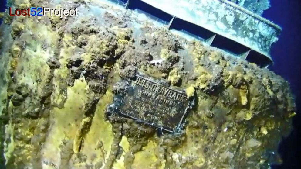 WWII submarine lost 75 years ago located off coast of Japan