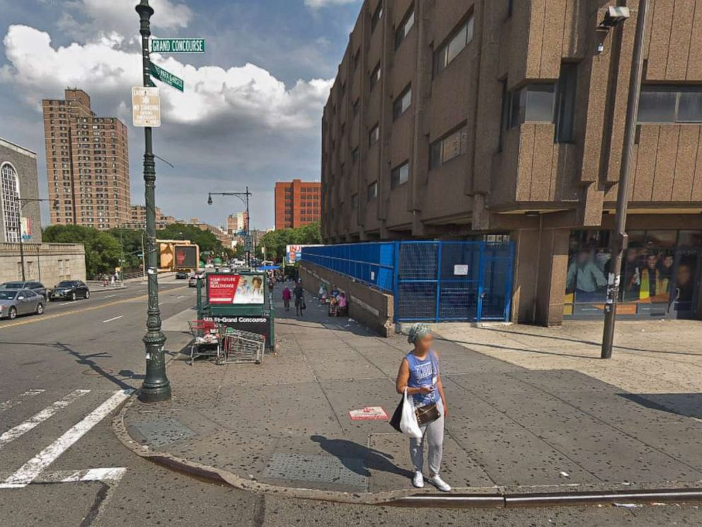 PHOTO: The 149th Street and Grand Concourse subway entrance in New York.