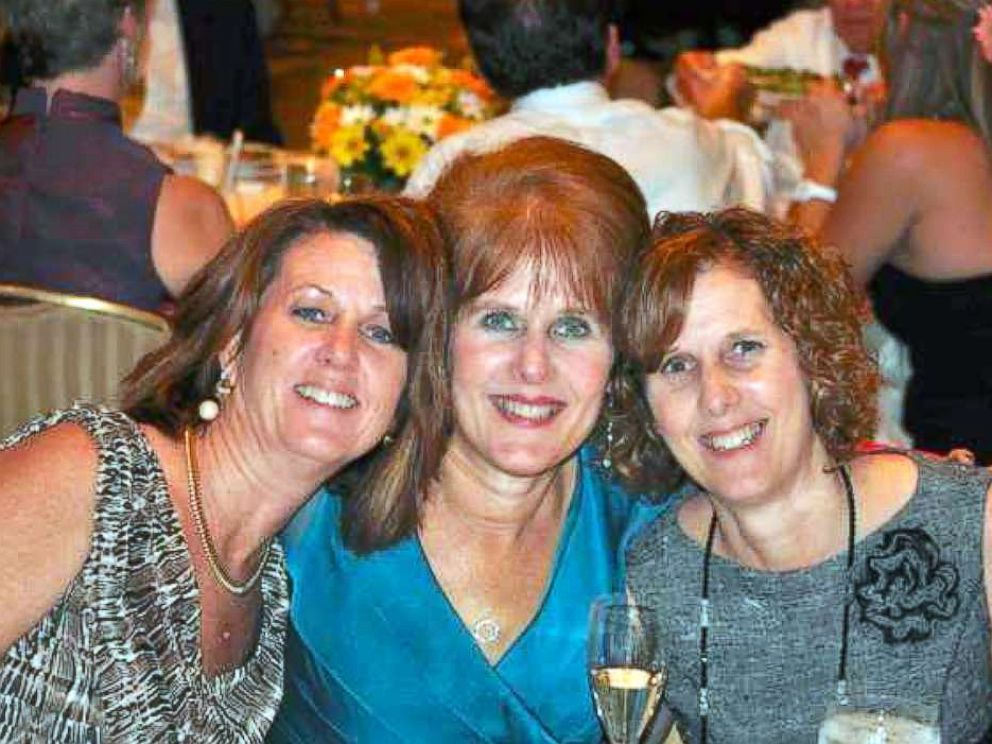 PHOTO: Seen from left, sisters Sue Connors, Mary Sherlach and Jane Dougherty in an undated photo. Sherlach was the school psychologist and an 18-year employee who lost her life at Sandy Hook elementary school in Newtown, Conn. on Dec. 14, 2012.