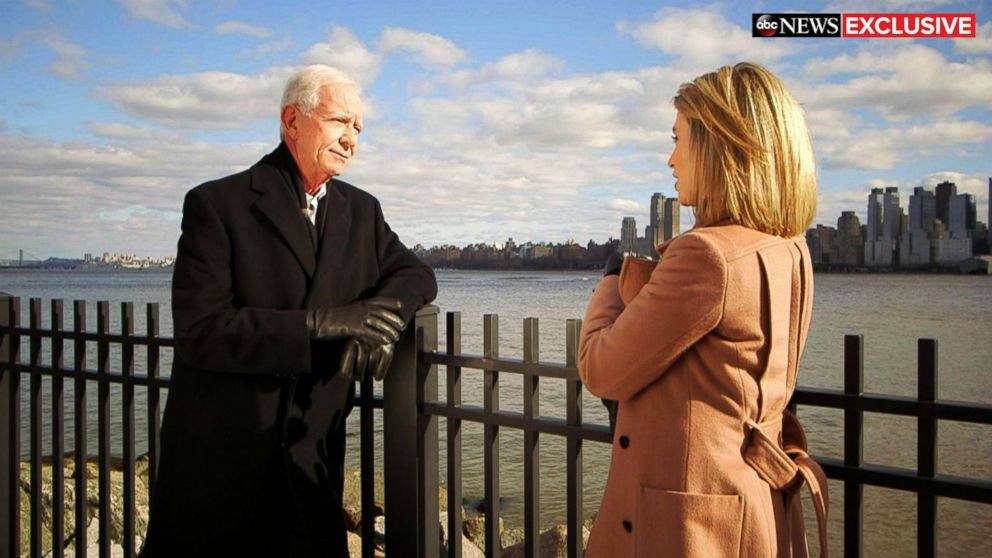 PHOTO: Chesley Sully Sullenberger speaks with ABC News Amy Robach about the tenth anniversary of the Miracle on the Hudson.