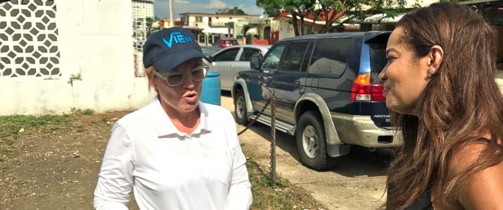 "PHOTO: San Juan Mayor Carmen Yulin Cruz spoke with ""The Views"" Sunny Hostin about recovery efforts in Puerto Rico following Hurricane Maria."