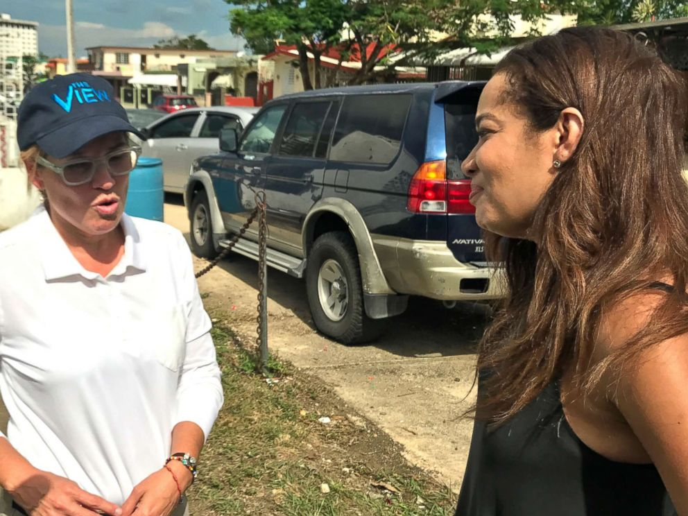 PHOTO: San Juan Mayor Carmen Yulin Cruz spoke with The Views Sunny Hostin about recovery efforts in Puerto Rico following Hurricane Maria.