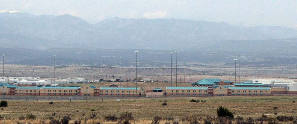 PHOTO: In this 2008 file photo The Administrative Maximum facility, part of the Florence Federal Correctional Complex in Florence, Colo. is seen.