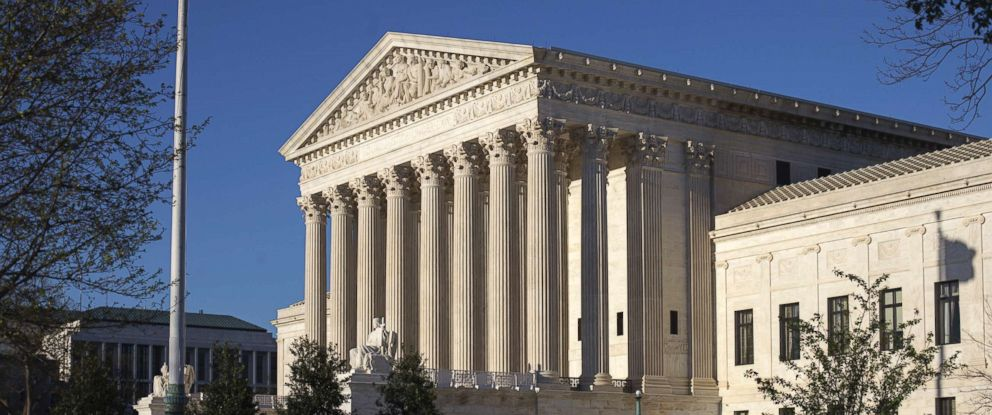 PHOTO: The Supreme Court Building in Washington, D.C., is pictured on April 4, 2017.