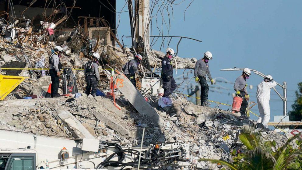 Surfside building collapse's mental toll