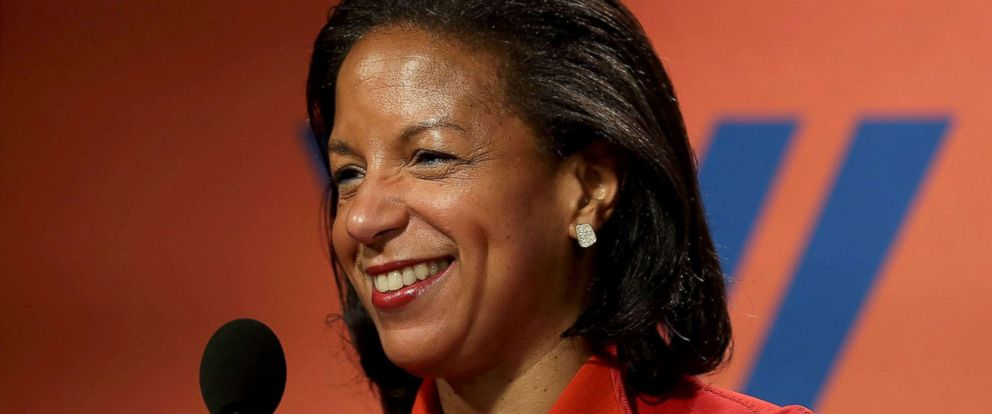 PHOTO: National Security Advisor Susan Rice participates in a discussion, Oct. 14, 2016, at the Woodrow Wilson Center in Washington, DC.