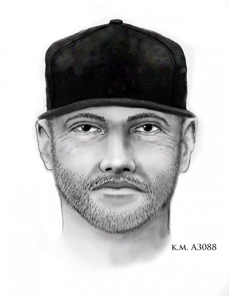 PHOTO: A sketch of the suspect wanted in the fatal shooting of a 10-year-old girl in Phoenix, April 3, 2019.