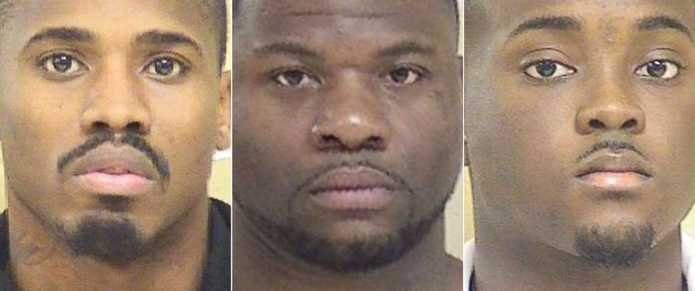 PHOTO: From left: Treveon Anderson,Glenn Frierson and Lawrence Pierre are pictured in this undated photo released by Shreveport Police Department.