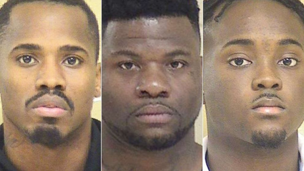 From left: Treveon Anderson,Glenn Frierson and Lawrence Pierre are pictured in this undated photo released by Shreveport Police Department.