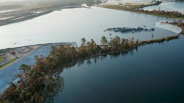 Dam breach raises concerns about coal ash flowing into North Carolina river